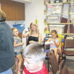 Puppet show held at Jeff Library