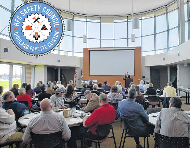 The HFC Safety Council meets monthly, bringing together between 60-80 representatives from businesses and organizations across the tri-county region.