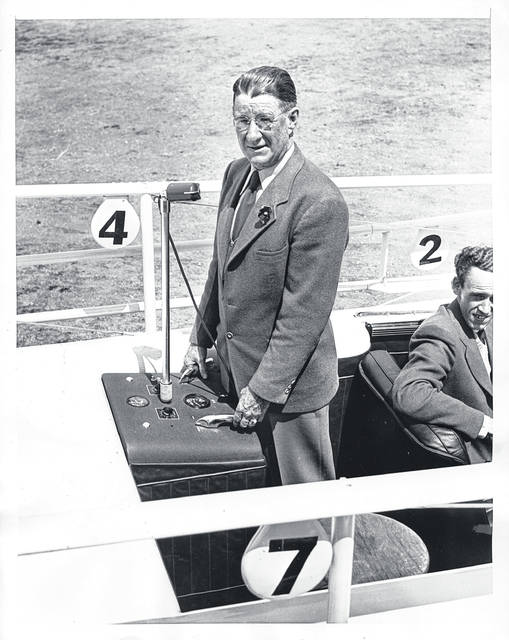 Stephen G. Phillips, inventor of the Mobile Starting Gate