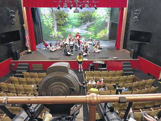 Children's Theatre Rehearsal at the Paxton Theatre.