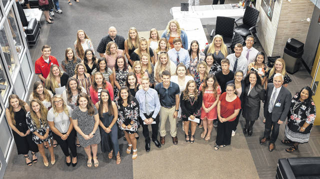 Area students pursuing degrees in the health care field were recently awarded scholarships by the Adena Health Foundation.