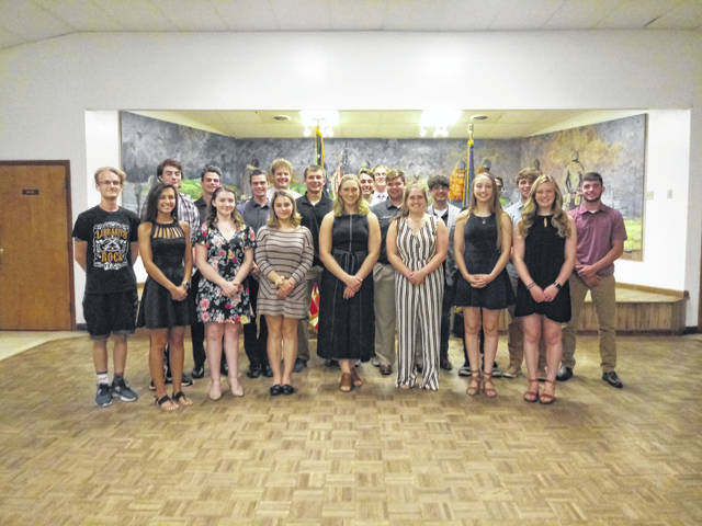 There were 15 boys and nine girls sent to the Buckeye State programs this year. Fayette Christian, Miami Trace Local Schools and Washington Court House City Schools were all represented among the attendees.