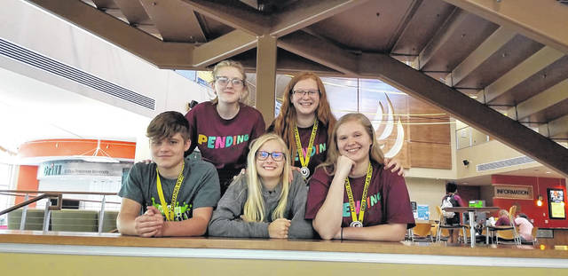 Fayette County Youth-Led Prevention Coalition has continued to see growth in programs within local school districts. Pictured are students from Washington City Middle School and Miami Trace High School who attended Youth 2 Youth International Conference at Ohio Dominican University earlier this year.