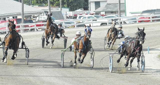 Harness racing returns to the Fayette County Fair with 14 races Wednesday, beginning at 4:30 p.m. Wednesday marks the third-annual Community Night at the Races. Prizes will be awarded to someone in the audience after each race.