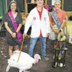 Four take top honors at poultry show Monday