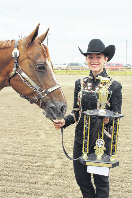 Madison Johnson was named the second place Overall Horse Showman and will stand in Kotlinski's place at the Showman of Showmen contest on Saturday if she is unable.