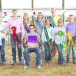 Ivey top hog showman for 2nd year