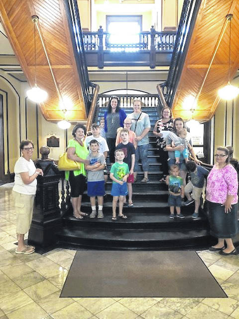 Everyone enjoyed learning about Fayette County history at the Court House.