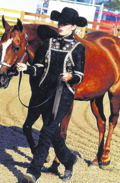 Madison Johnson, the daughter of Heath and Christy Johnson of Bloomingburg, is a member of the All-N-One 4-H Club. She placed first in Horsemanship at the Ohio State Fair.