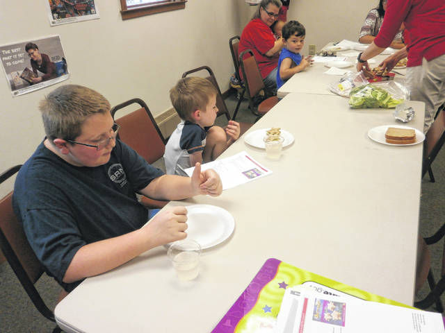 The group made snacks such as astronaut star sandwiches, strawberry s'mores and fruit pizza.