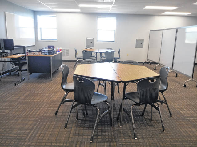 This room will be for mental health purposes and will also serve as the sensory room in the new Miami Trace Learning Center.