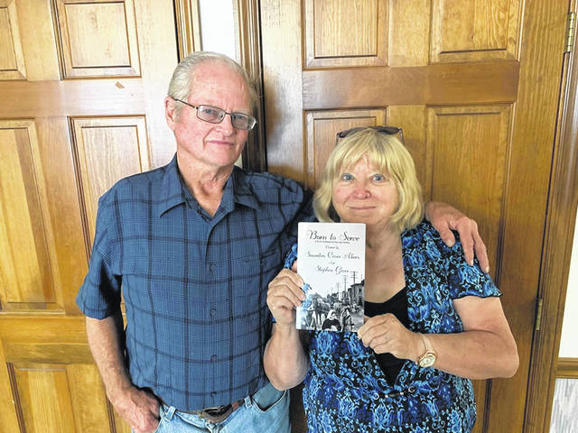"Local Steve Greer recently partnered with author Saundra Crum Akers to bring his ideas to the page in the new novel ""Born to Serve,"" now available on Amazon and can be purchased locally at Our Place Restaurant in Washington Court House. With Akers' experience writing novels and Greer's ideas to fuel them, the two put together a story that represents the community in the early 1900s."