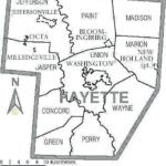 The townships of Fayette Co.: Perry Twp.
