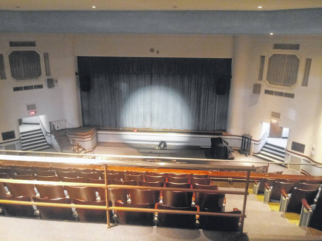 The second clean-up day for the Washington Historic Auditorium happened on Saturday. Washington C.H. City Schools staff and faculty, as well as volunteers from the community, helped with various tasks. Superintendent Tom Bailey was present to help and during the event he said it was going well.