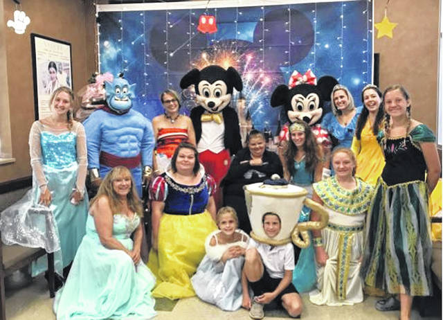 Heartland Hospice serving Central Ohio, a division of ProMedica, surprised patient, Crickett Shadley, by bringing Disney to her.