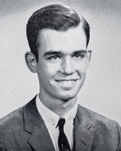 The WHS Class of 1959 senior photo for Dr. John W. Leland