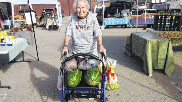 The Fayette County Farmers Market is taking time to thank its many patrons during the second-to-last market of the season.