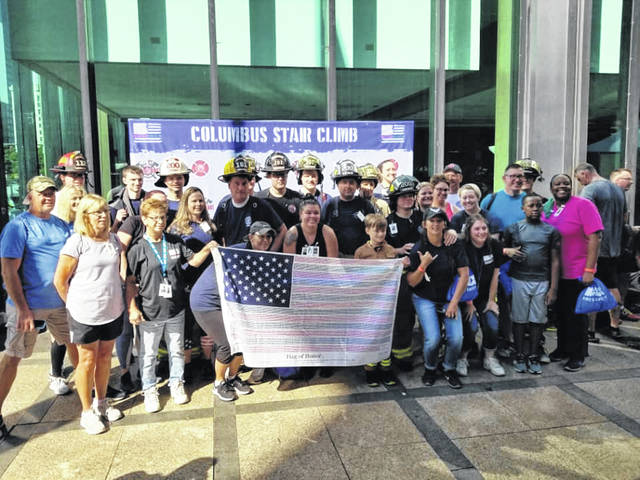 Wayne Township Volunteer Fire Rescue and its 60 team members were recognized for having the largest team as well as raising the most funds for the National Fallen Firefighters Foundation (NFFF).