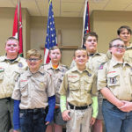 Troop 112 holds 'court of honor'