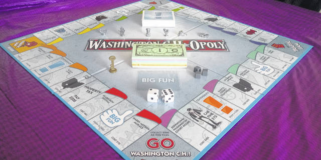 """Washington C.H. Opoly"" is a new board game gaining the attention of locals."