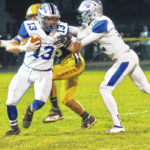 Blue Lions roll over McClain, 51-7