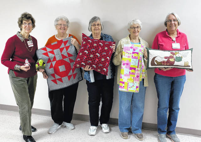 The Fayette County Memorial Hospital Auxiliary will hold its 42nd Holiday Bazaar on Nov. 8, 9 a.m. to 5 p.m. It is in Medical Arts Building II Conference Room located on the first floor. There will be many hand-crafted items for all occasions, a bake sale, as long as the goodies last and a raffle drawing at 5 pm. Pictured are some of the volunteers in the sewing group that have been working since February to get ready for the Bazaar. A good place to start your holiday shopping. Pictured from left to right are Barbara Vance, Patsy Stevens, Carolyn Reinwald, Ruth Curry and Beth Foster.