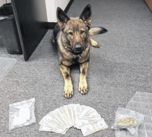Meth recovered at traffic stop