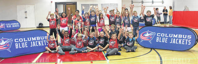 The Columbus Blue Jackets (CBJ) NHL franchise partnered with the Fayette County Family YMCA this week to help teach a new generation of kids about hockey. On Thursday over 40 kids participated in an introductory clinic called CBJ Hockey To Go presented by Huntington.