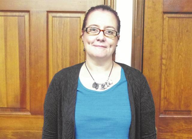The newest Record-Herald team member is Becky Baker.