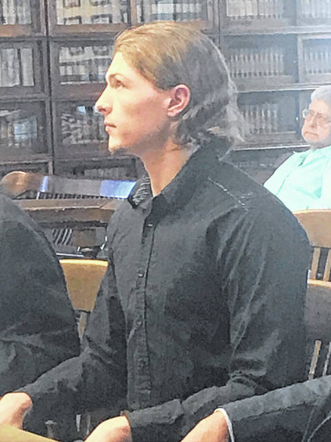 Flanked by his attorneys, Edward Wagner appears at a pretrial in September. He was back in court Tuesday for a motion hearing in his case.