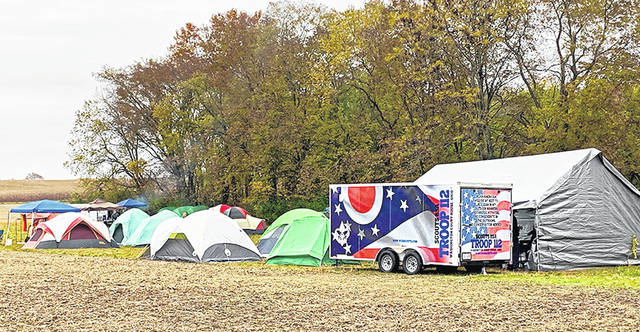 Scouts BSA Troop 112 attended the Fall Camporee at Mount Oval Historic property near Circleville in late October. More than 100 Scouts from the region attended the Camporee.