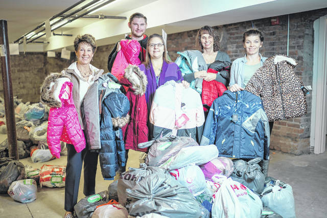 More than 1,200 local children are receiving brand-new coats through Adena's Coats for Kids drive.