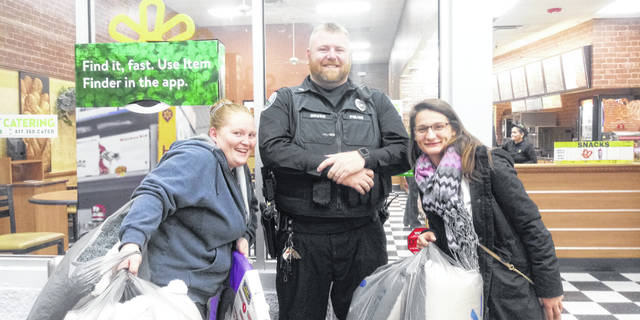 "During ""Black Friday,"" which began at 6 p.m. at Walmart in Fayette County on Thursday night, several peace officers were located throughout the store to assist the locals out shopping. Washington C.H. Police Department Patrolmen Jonathan Sever was stationed at the entrance nearest Subway restaurant and reported that the sale started off well."