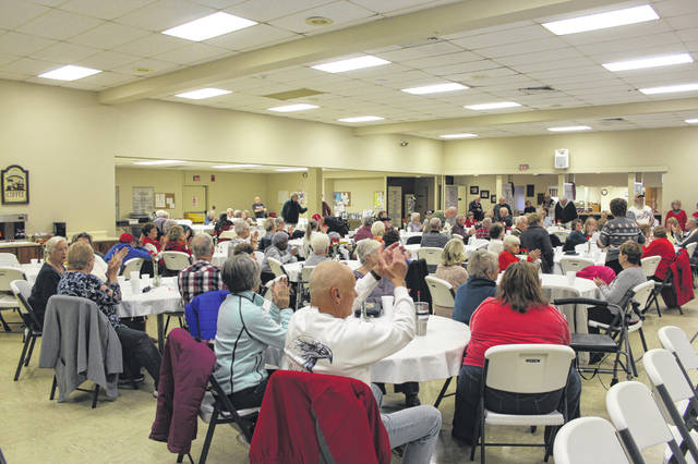 The Fayette County Commission on Aging held its annual Veterans Day lunch on Friday to honor those who served in the U.S. Military. Many were in attendance for the program and food.