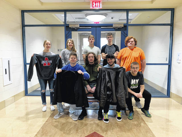 Washington High School students in Mr. Bartruff's second period Student Leadership class are leading a coat drive this season meant to assist their fellow students in staying warm.