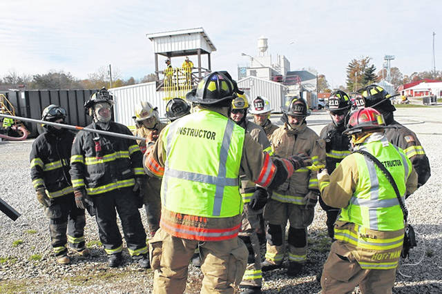 Washington Fire Department Chief Timothy Downing and Captain Jason O'Dierno joined peers from across Ohio during the Oilfield Emergency Response Training session in November.
