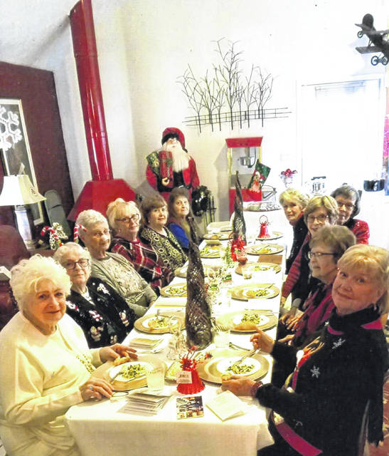 Fayette Garden Club recently held its 2019 Christmas celebration.