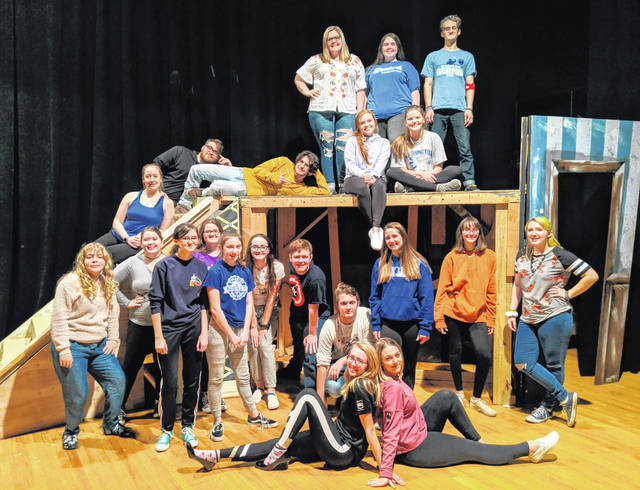 "The cast and crew of the Washington High School ""Mamma Mia!"" production invite the community to join them Feb. 14, 15, and 16 as they present this classic musical at the Historic Washington Auditorium. Tickets are on sale now at whsoh.booktix.com."