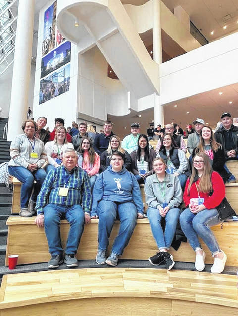 Members of the Fayette County Junior Fair Board recently attended the annual Ohio Fair Managers Conference in Columbus.