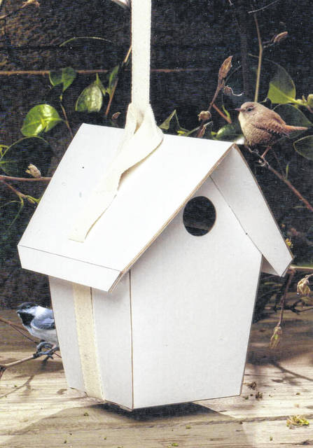 "GreenBird LLC — owned by David Allen, a WCH native — was recently selected for a 2019 Best of Cincinnati Award in the ""Products and Services"" category by the Cincinnati Award Program. Pictured is ""The GreenBird House,"" one of products sold by GreenBird LLC, a biodegradable birdhouse."