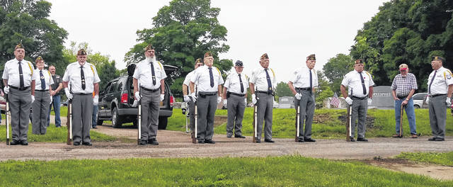 The Fayette County Honor Guard traveled to three cemeteries on Memorial Day 2019 to honor the fallen with full military honors.