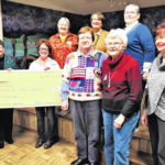 Altrusa contributes $500 to the Food Pantry