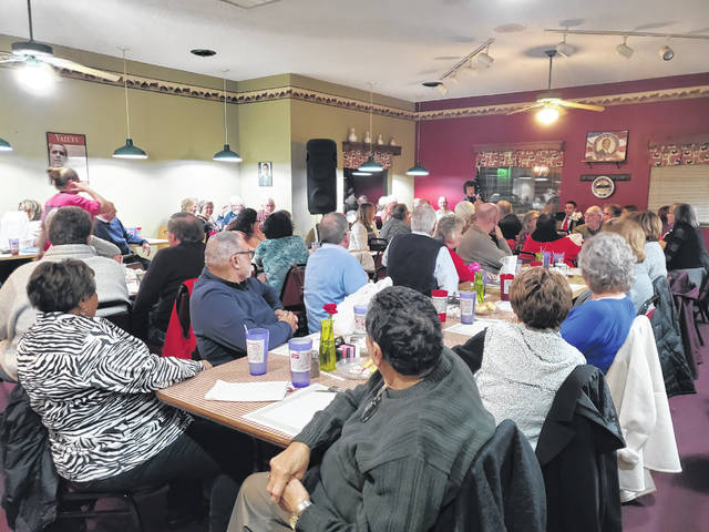 Our Place Restaurant was packed on Sunday evening with those attending the Fayette County Democrats' annual Obama Legacy Dinner.