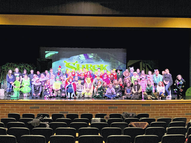 "Miami Trace Middle School's (MTMS) two performances of ""Shrek Jr.,"" directed by Addison Metzger, sold over 1,000 tickets in two days."
