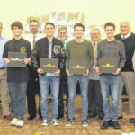 Four MT students honored by board