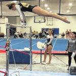 Gymnasts score high marks at Anderson Invit.