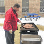 Belle Aire grills through the cold