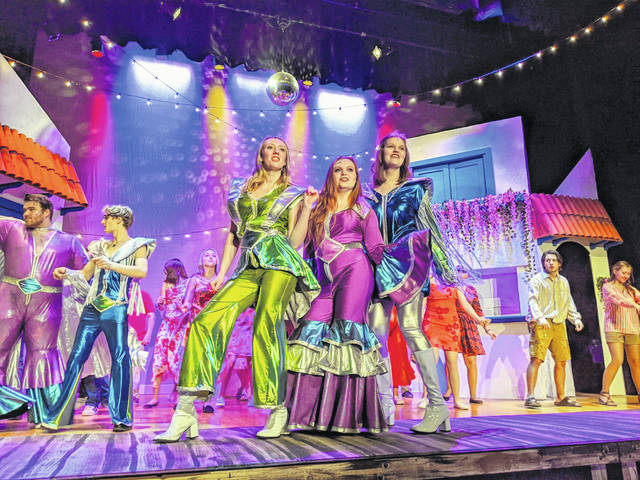 "Washington High School's performance of ""Mamma Mia!,"" directed by Jared Joseph, this past weekend brought in 900 community members to enjoy the show."