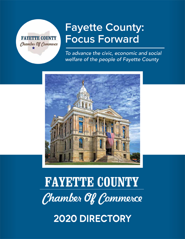 2020 Chambers Directory Fayette County: Focus Forward