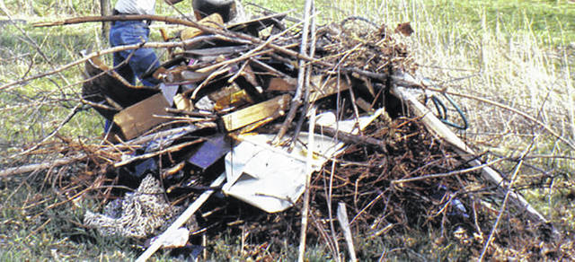 Most of Ohio's wildfires are the result of arson and careless burning of trash, debris and brush.